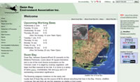 Swan Bay Environment Association web site
